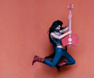 marceline, adventure time, and cosplay image