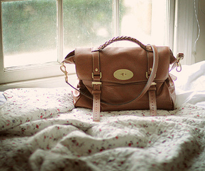 bag, bed, and photography image