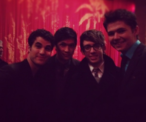 glee, darren criss, and kevin mchale image