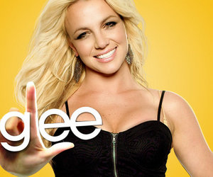 britney spears and glee image