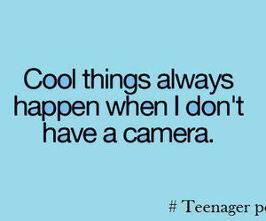 camera, cool, and text image