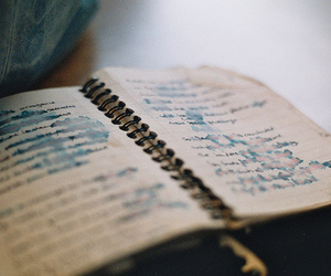book, vintage, and diary image