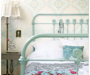 bedroom, vintage, and decor image