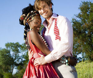 embrace, interracial, and love image