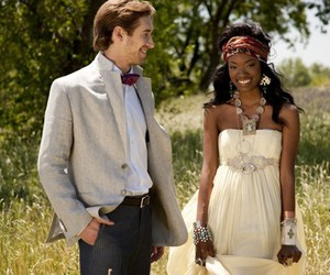 interracial, cute, and love image