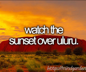 australia, sunset, and before i die image