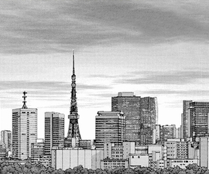 tokyo and tower image