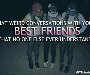 friends, quote, and best friends image