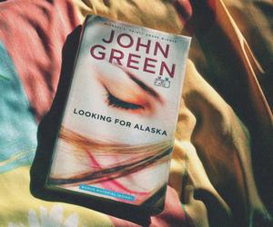book, alaska, and john green image