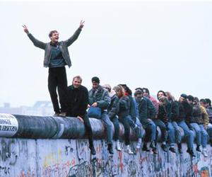 berlin wall, freedom, and people image