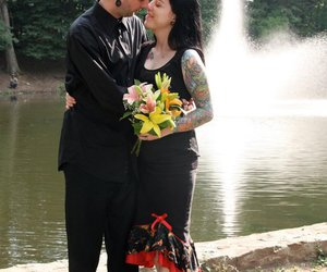 marriage, tattoo, and love image