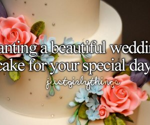 special day wedding cake image