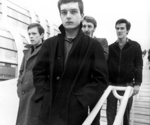 black and white, english, and joy division image