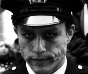 cops, heath ledger, and joker image