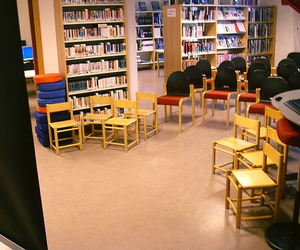 library, norway, and photo image