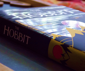 books, reading, and the hobbit image