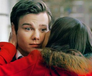 glee, rachel berry, and chris colfer image