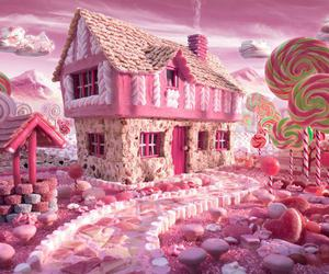dream house and candy world image