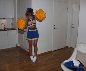 cheerleader, lene orvik, and hellcats image