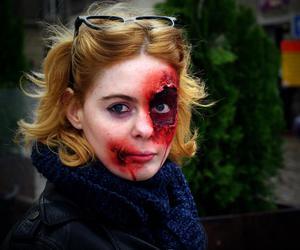 Halloween, zombie, and halloween makeup image