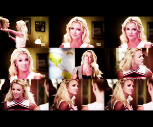britney spears, glee, and it's britney bitch image