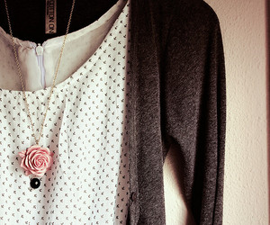 fashion, necklace, and rose image