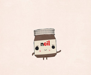 chocolate, drawing, and nutella image