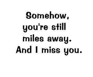 distance, for you, and qoutation image
