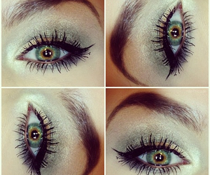 eyes, make up, and eye image