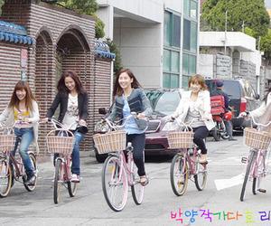 bikes, snsd, and taeyeon image