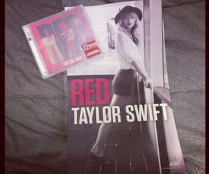 red, red album, and Swift image