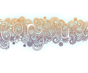 illustration and typography image