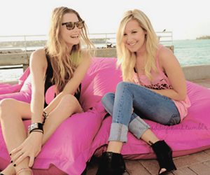 ashley tisdale, girl, and pink image