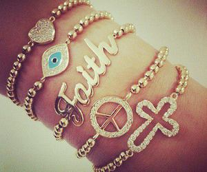 bracelet, faith, and peace image
