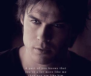 damon, the vampire diaries, and ian somerhalder image