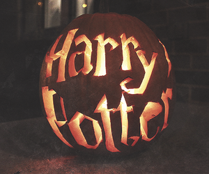 Halloween and harry poter image