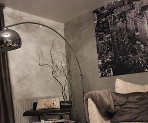 grey, home, and home design image