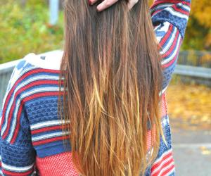 brunette, hair, and clothes image