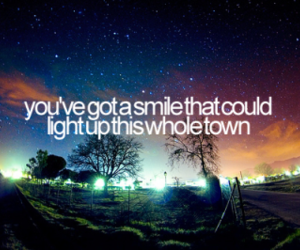 light up, smile, and town image