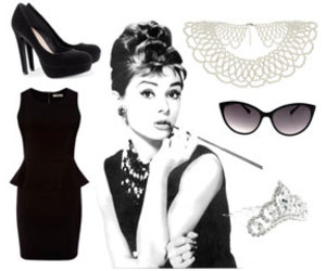audrey hepburn, fashion, and clothes image