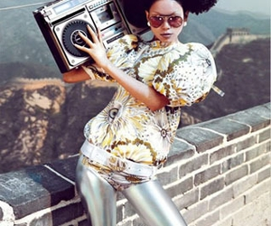 american apparel, boombox, and china image