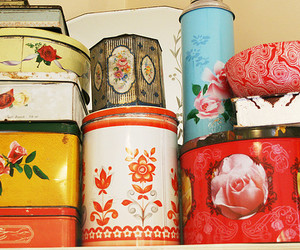 collection, interior, and tin image