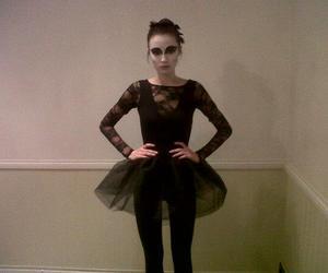 ballet, girl, and blackswan image