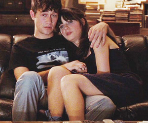 couple, 500 Days of Summer, and zooey deschanel image