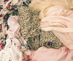 clothes and floral image