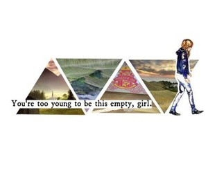 empty, girl, and Say Anything image
