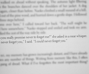 love, book, and forget image