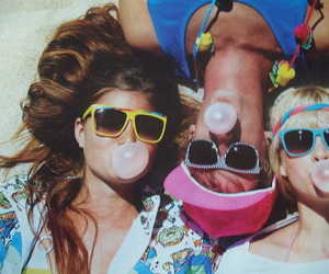 friends, summer, and sunglasses image