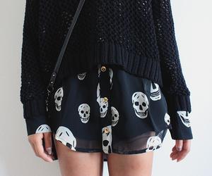 fashion, skull, and style image