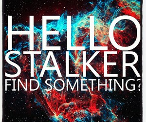 stalker and hello image